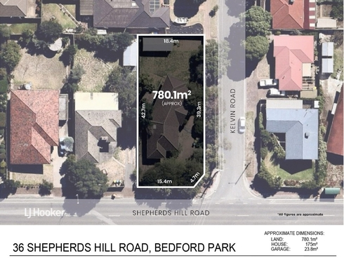 36 Shepherds Hill Road Bedford Park, SA 5042