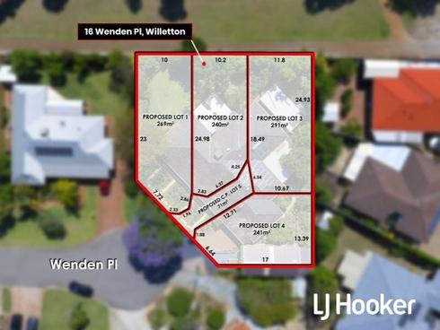 Lot 1-4/16 Wenden Place Willetton, WA 6155