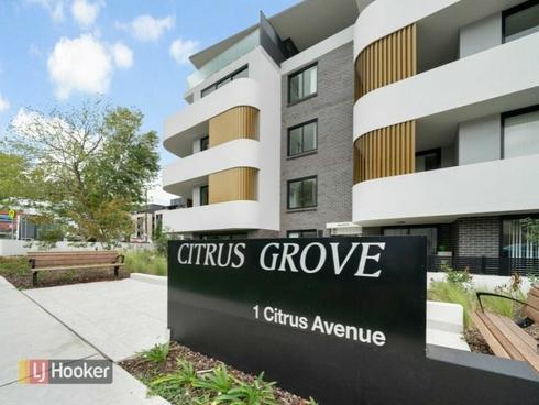 Unit 18/1 Citrus Avenue Hornsby, NSW 2077