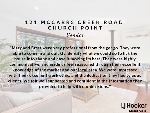 121 McCarrs Creek Road Church Point, NSW 2105
