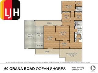 60 Orana Road Ocean Shores , NSW, 2483