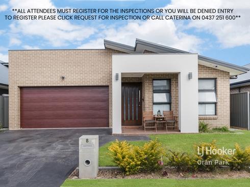 8 Churcher Street Catherine Field, NSW 2557