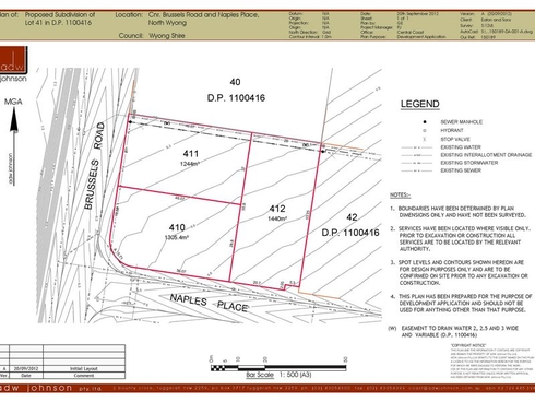 Lot 412/of Lot 41 Cnr Naples & Brussels Road Wyong, NSW 2259