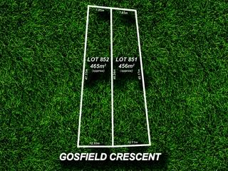 Lot 851 & 852/5 Gosfield Crescent Hampstead Gardens , SA, 5086